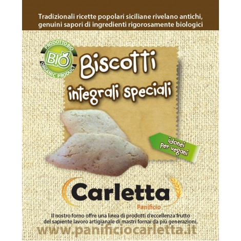 Special integral biscuits